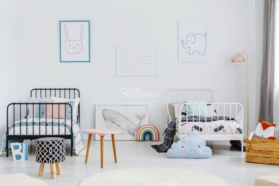 Как организовать комнату для двоих детей?