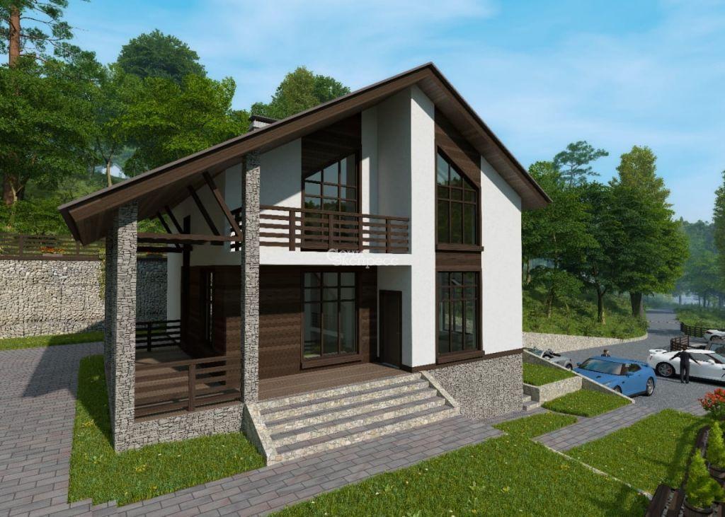 Дом 172м² на участке 5.6 сот