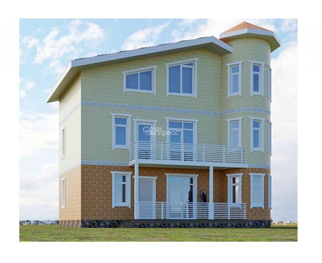 Дом 170м² на участке 2 сот