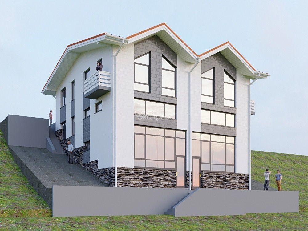 Дом 118м² на участке 28 сот