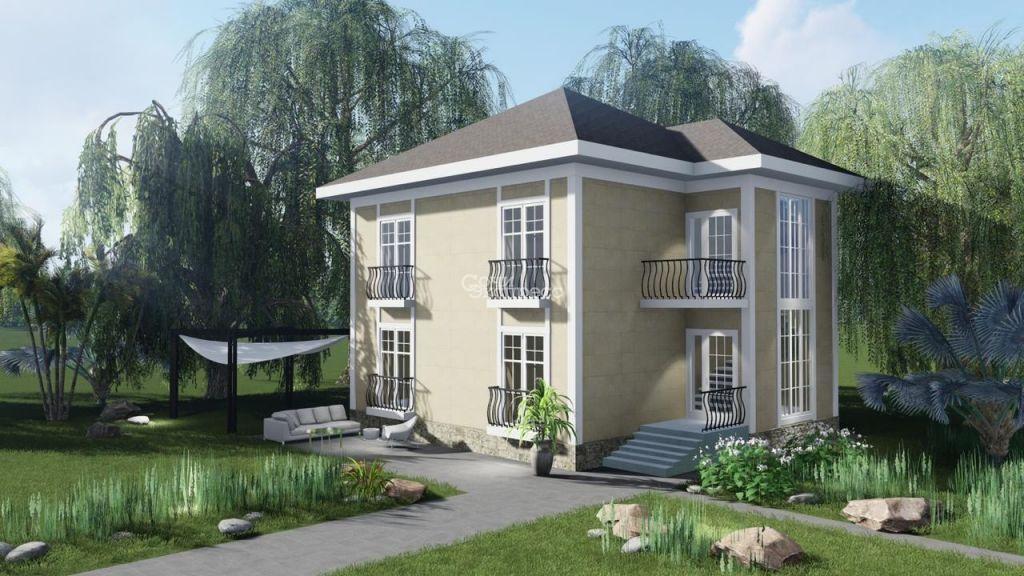 Дом 145м² на участке 4 сот