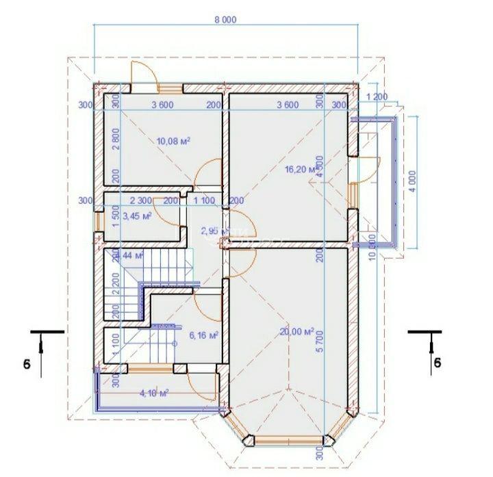 Дом 150м² на участке 3.8 сот