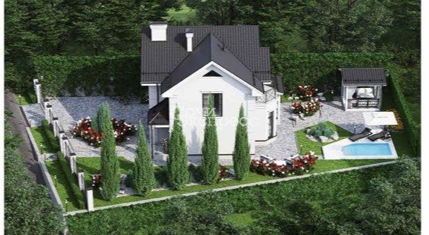 Дом 180м² на участке 5.5 сот